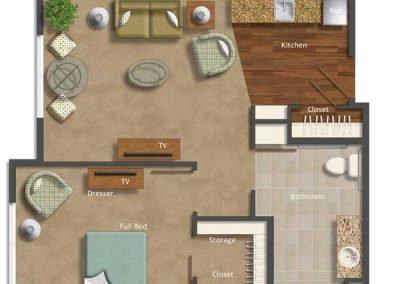 AltaVita Assisted Living One Bedroom Suite