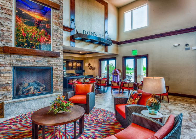 Community Space Tavern at AltaVita Assisted Living in Longmont