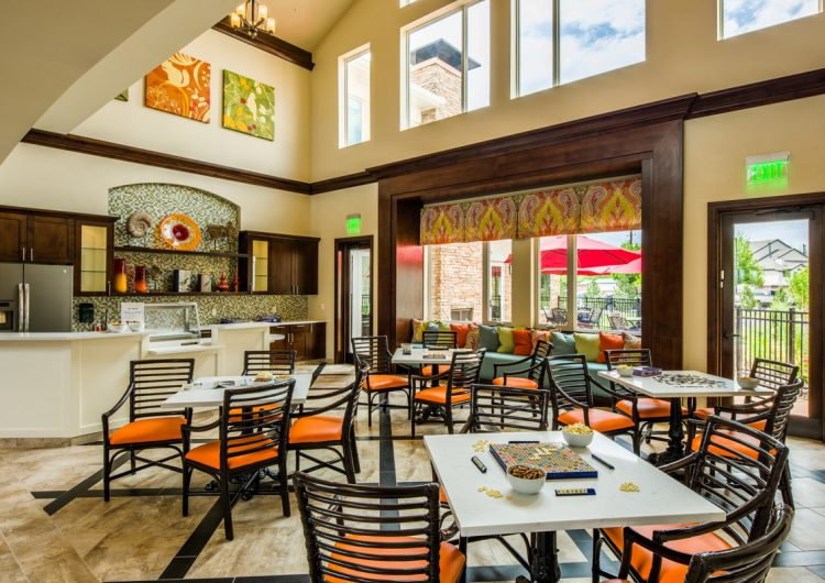 Longmont Assisted Living Cafe in AltaVita
