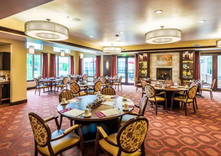 Dining Room - AltaVita Assisted Living in Longmont