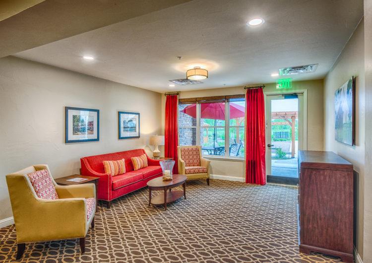 Sitting Area - AltaVita Assisted Living in Longmont