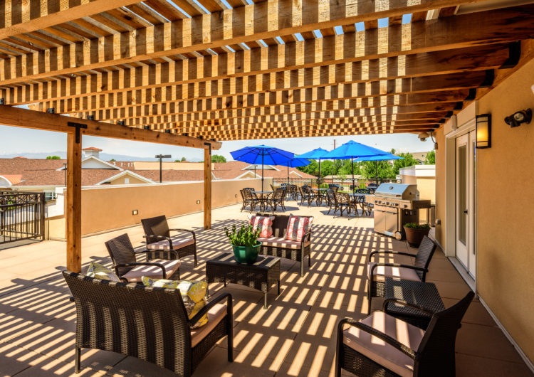 Deck - AltaVita Assisted Living in Longmont