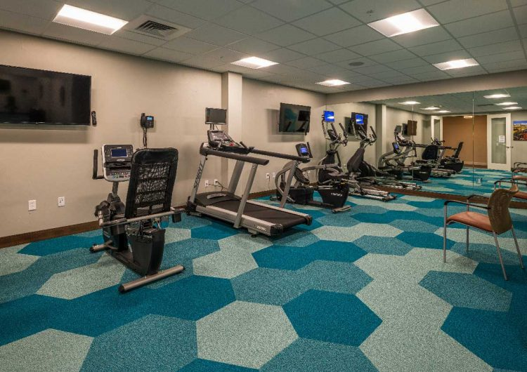 Workout Room AltaVita Independent Living Longmont, CO