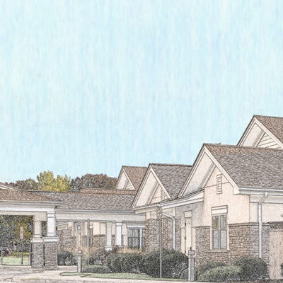 AltaVita Memory Care Centre Exterior Drawing