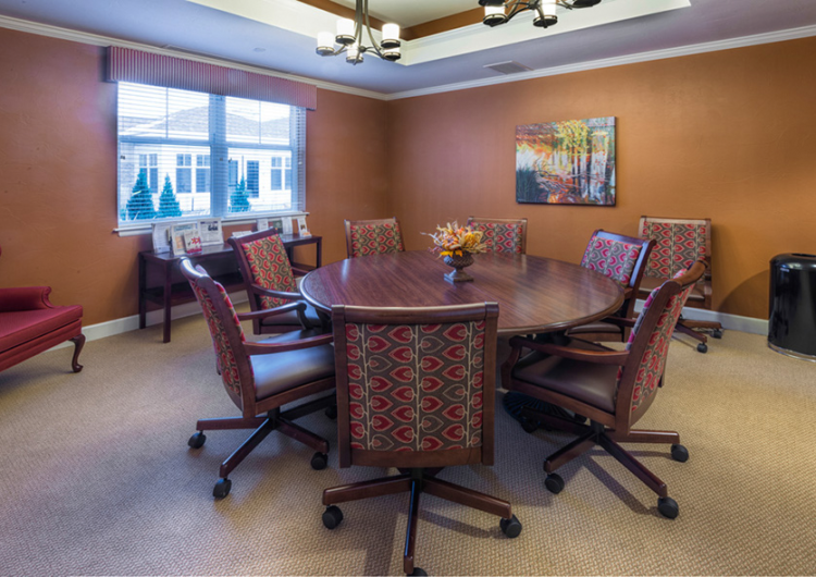 Private Dining Room - AltaVita Memory Care Center in Longmont
