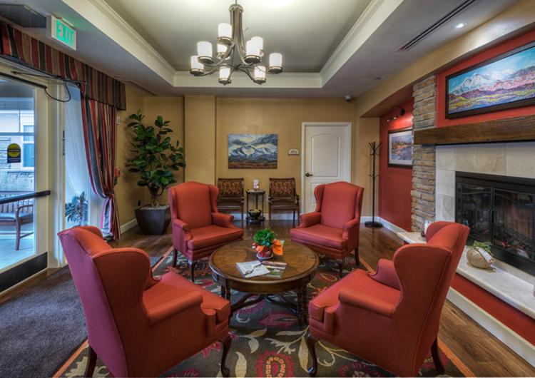 Front Lobby Sitting Area - AltaVita Memory Care Center in Longmont