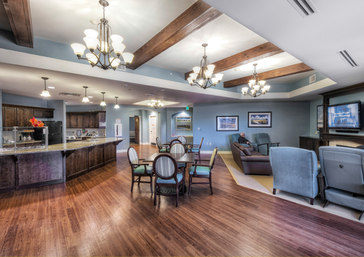 Dining and Living Area - AltaVita Memory Care Center in Longmont