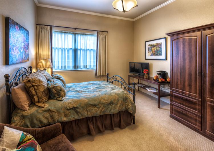 Bedroom - AltaVita Memory Care Center in Longmont
