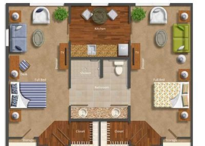 One Bedroom Deluxe AltaVita Assisted Living